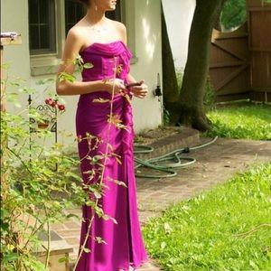 Fuchsia Prom Gown Jill Stuart Size 2